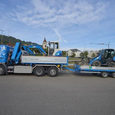 Gesucht: Lastwagenchauffeur