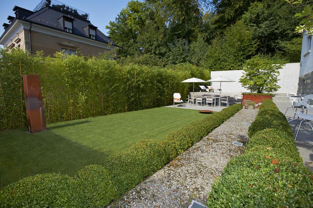 grenzen ziehen mit individuellem sichtschutz tanner gartenbau ag. Black Bedroom Furniture Sets. Home Design Ideas